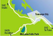 マクラレンファルズパーク地図